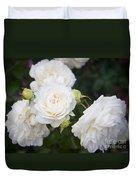 White Roses Duvet Cover
