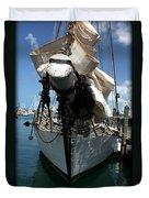 White Sail   Duvet Cover