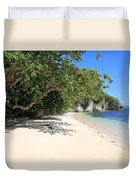White Sand And Blue Sky Duvet Cover