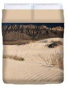 White Sand Below Duvet Cover