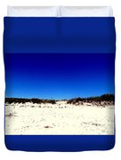 White Sand Blue Skies Duvet Cover