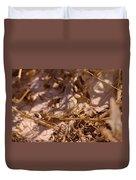 White Sands Lizard Duvet Cover