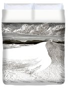White Sands New Mexico Duvet Cover by Jack Pumphrey
