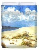 White Sands New Mexico U S A Duvet Cover