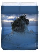 White Sands Turns Blue Duvet Cover