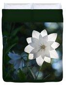 White Star Duvet Cover