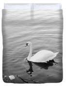White Swan Solitary Duvet Cover