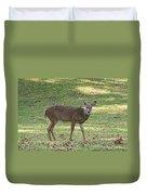 White Tail Deer Duvet Cover