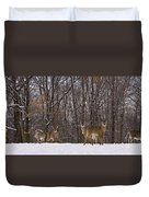White Tailed Deer Duvet Cover
