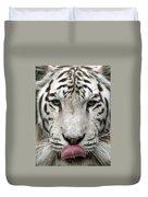 White Tiger - 02 Duvet Cover