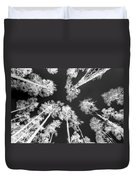 White Trees Duvet Cover