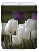 White Tulips 9169 Duvet Cover