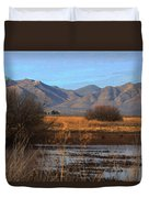 White Water Draw Preserve Duvet Cover