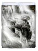 White Water Falls Duvet Cover