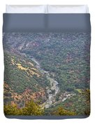 White Waters Duvet Cover