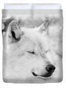 White Wolf Shut Eye Duvet Cover