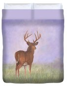 Whitetail Duvet Cover by David Stribbling