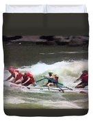 Whitewater Rafting Duvet Cover