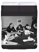 Whitney & Co. Investigation Duvet Cover