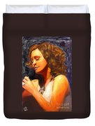 Whitney Gone Too Soon Duvet Cover