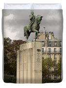 Who Is This Foch? Duvet Cover