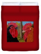 Who You Calling Chicken Duvet Cover