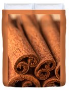 Whole Cinnamon Sticks  Duvet Cover