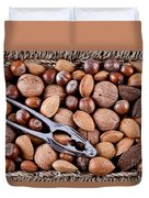Whole Nuts In A Basket Duvet Cover