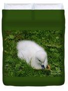 Whooper Swan Juvenile  Duvet Cover