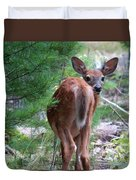 Who's There? Duvet Cover