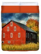 Why Do They Paint Barns Red? Duvet Cover