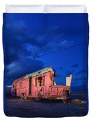 Why Pink Airstream Travel Trailer Duvet Cover