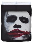 Why So Serious? Duvet Cover