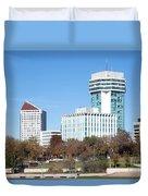 Wichita Skyline Duvet Cover