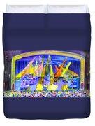 Widespread Panic Peabody Opera House Duvet Cover