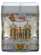 Wieskirche Pipe Organ Duvet Cover