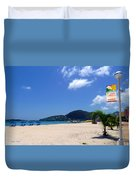 Wifi In Paradise - Hotspot Redefined Duvet Cover