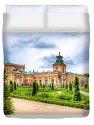 Wilanow Palace In Warsaw Poland Duvet Cover