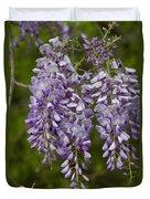 Wild Alabama Wisteria Frutescens Wildflowers Duvet Cover