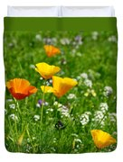 Poppies 3 - Wild At Heart Duvet Cover