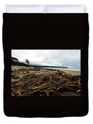 Wild Beach New Zealand Duvet Cover