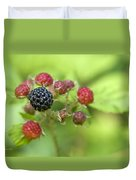 Wild Berries Duvet Cover by Christina Rollo