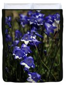 Wild Blue Bells Duvet Cover
