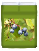Wild Blueberries Duvet Cover