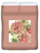 Wild Camellia 1 Duvet Cover