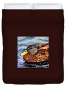 Wild Duck  Duvet Cover