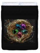 Wild Eggs In My Nest Duvet Cover