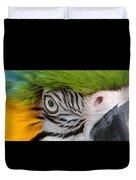 Wild Eyes - Parrot Duvet Cover