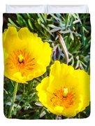 Wild Flowers 2 Duvet Cover