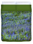 Wild Flowers Blanket Duvet Cover